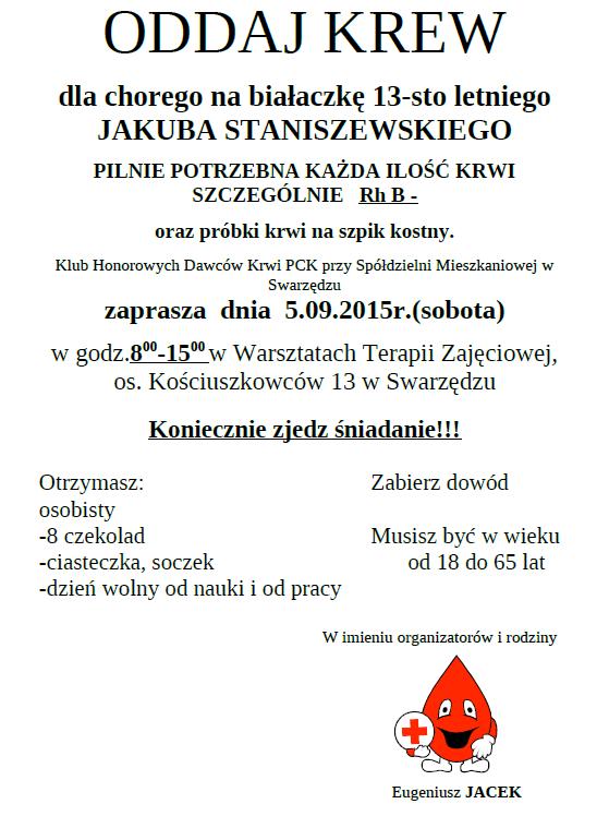 Oddaj_krew_plakat