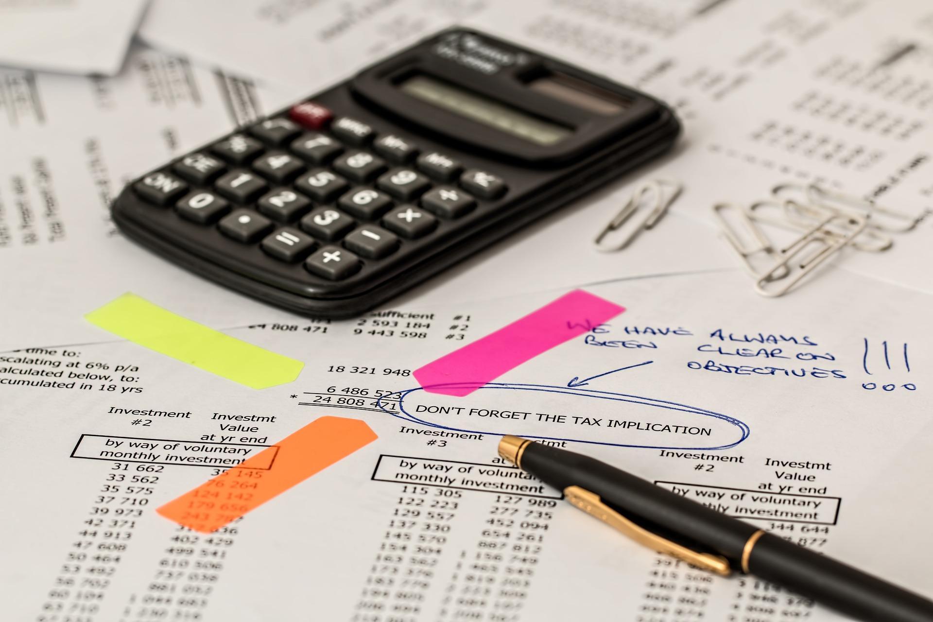 Terminy płatności podatku